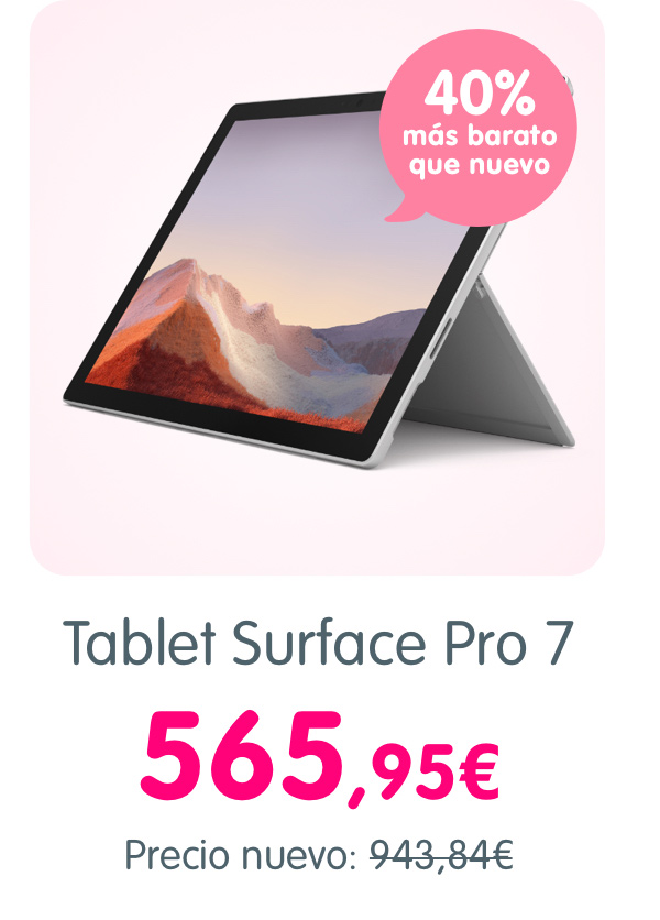 Tablet Surface Pro 7
